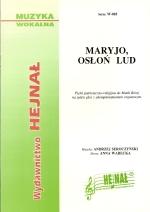 Okładka: Seroczyński Andrzej, Maryjo osłoń lud, Pieśń patriotyczno-religijna na trzy głosy z organami