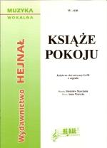 Okładka: Marciniak Stanisław, Książe pokoju, Kolęda na chór mieszany SATB a cappella