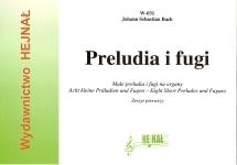 Ok�adka: Bach Johann Sebastian, Ma�e preludia i fugi na organy, z. 1