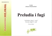 Okładka: Bach Johann Sebastian, Preludia i fugi na organy, Preludium i fuga a-moll, Toccata i fuga d-moll, z. 2