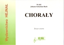 Okładka: Bach Johann Sebastian, Chorały na organy, Wybór