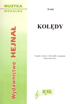 Okładka: , Kolędy na głos solowy i chór SAB z organami, z. 1