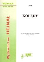 Ok�adka: , Kol�dy na g�os solowy i ch�r SAB z organami, z. 1