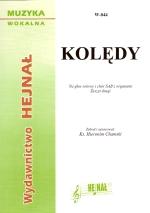 Ok�adka: , Kol�dy na g�os solowy i ch�r SAB z organami, z. 2