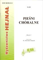 Okładka: , Pieśni chóralne, z. 1