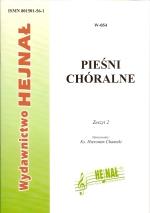 Okładka: , Pieśni chóralne, z. 2