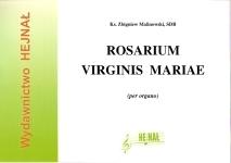 Ok�adka: Malinowski ks. Zbigniew, Rosarium Virginis Mariae, 20 preludi�w organowych