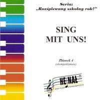 Okładka: , Sing mit uns! Piosenki w języku niemieckim zbiorek 4 - płyta CD