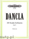 Ok�adka: Dancla Charles, 20 Etudes brillantes, Op. 73