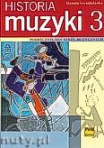 Okładka: Gwizdalanka Danuta, Historia muzyki, Podręcznik dla szkół muzycznych, XX wiek, z. 3