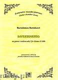 Ok�adka: Bortolazzi Bartolomeo, Divertimento na gitar� i wiolonczel�