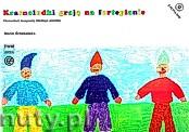 Okładka: Grzebalska Maria, Krasnoludki grają na fortepianie + DVD