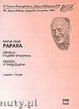 Okładka: Papara Michał, Jakub, Odyseja - I kwartet smyczkowy