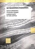 Okładka: Szymanowski Karol, Suita kurpiowska na skrzypce i fortepian