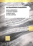 Ok�adka: Szymanowski Karol, Suita kurpiowska na skrzypce i fortepian