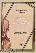 Okładka: Telemann Georg Philipp, 12 fantazji na skrzypce