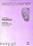 Okładka: Wojtacki Emil, Bernard, Sonettino per clavicembalo