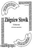 Okładka: Słowik Zbigniew, Cicha noc na kwartet smyczkowy (partytura + głosy)