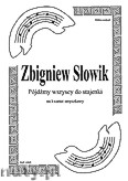 Okładka: Słowik Zbigniew, Pójdźmy wszyscy do stajenki na kwartet smyczkowy (partytura + głosy)