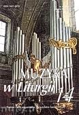 Okładka: Piech Jacek, Muzyka w Liturgii. Pomoce dla organistów i muzyków kościelnych zeszyt 14