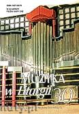 Okładka: Piech Jacek, Muzyka w Liturgii, Pomoce dla organistów i muzyków kościelnych,  z. 30