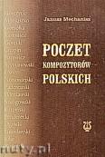 Okładka: Mechanisz Janusz, Poczet kompozytorów polskich (oprawa twarda)