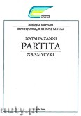 Okładka: Zanni Natalia, Partita na smyczki