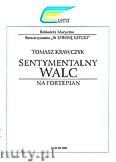 Ok�adka: Krawczyk Tomasz, Sentymentalny walc na fortepian
