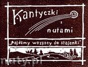 Okładka: Kaszycki Jan, Kantyczki z nutami