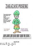 Ok�adka: Wi�niewski Stanis�aw, Zakazane piosenki na fortepian lub keyboard