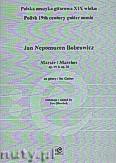 Okładka: Bobrowicz Jan Nepomucen, Marsze op.19 i op. 25 na gitarę