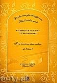 Okładka: Duranowski Fryderyk August, Trzy duety na skrzypce op.2 część 1
