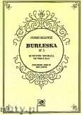 Okładka: Noskowski Zygmunt, Burleska op. 3 nr 2 na fortepian i wiolonczelę