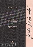 Okładka: Perkowski Piotr, Poeme na altówkę i fortepian