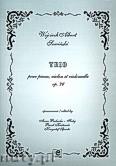 Okładka: Sowiński Wojciech, Albert, Trio na fortepian, sjkrzypce i wiolonczelę op.76