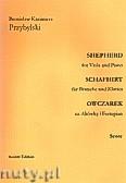 Okładka: Przybylski Bronisław Kazimierz, Owczarek na altówkę i fortepian (partytura + głosy, ca 2')