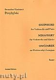 Okładka: Przybylski Bronisław Kazimierz, Owczarek na wiolonczelę i fortepian (partytura + głosy, ca 2')