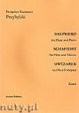 Okładka: Przybylski Bronisław Kazimierz, Owczarek na flet i fortepian (partytura + głosy, ca 2')