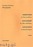 Ok�adka: Przybylski Bronis�aw Kazimierz, Owczarek na ob�j i fortepian (partytura + g�osy, ca 2')