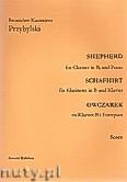 Okładka: Przybylski Bronisław Kazimierz, Owczarek na klarnet B i fortepian (partytura + głosy, ca 2')