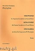 Okładka: Przybylski Bronisław Kazimierz, Owczarek na saksofon sopranowy i fortepian (partytura + głosy, ca 2')