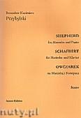 Okładka: Przybylski Bronisław Kazimierz, Owczarek na marimbę i fortepian (partytura + głosy, ca 2')