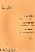 Okładka: Przybylski Bronisław Kazimierz, Owczarek na ksylofon i fortepian (partytura + głosy, ca 2')