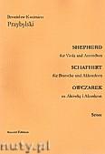 Ok�adka: Przybylski Bronis�aw Kazimierz, Owczarek na alt�wk� i akordeon (partytura + g�osy, ca 2')