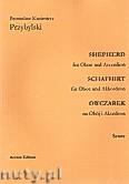 Okładka: Przybylski Bronisław Kazimierz, Owczarek na obój i akordeon (partytura + głosy, ca 2')