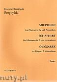 Okładka: Przybylski Bronisław Kazimierz, Owczarek na klarnet B i akordeon (partytura + głosy, ca 2')