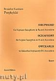 Okładka: Przybylski Bronisław Kazimierz, Owczarek na saksofon sopranowy i akordeon (partytura + głosy, ca 2')