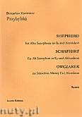Okładka: Przybylski Bronisław Kazimierz, Owczarek na saksofon altowy i akordeon (partytura + głosy, ca 2')