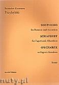 Ok�adka: Przybylski Bronis�aw Kazimierz, Owczarek na fagot i akordeon (partytura + g�osy, ca 2')