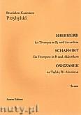 Okładka: Przybylski Bronisław Kazimierz, Owczarek na trąbkę B i akordeon (partytura + głosy, ca 2')